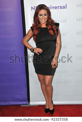 Aubrey O'Day, star of The Celebrity Apprentice, at the NBC Universal Winter 2012 TCA party at The Athenaeum in Pasadena. January 6, 2012  Los Angeles, CA Picture: Paul Smith / Featureflash - stock photo