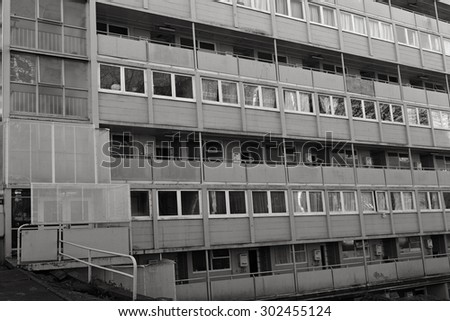 AUCKLAND - JUL 21 2015:State Housing apartments in Auckland.For more than a century the state has provided rental homes for tens of thousands of New Zealanders unable to afford a home of their own.