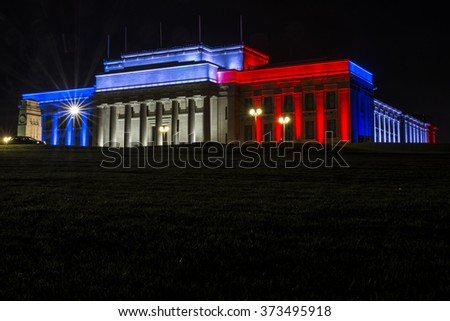 Auckland museum for Paris
