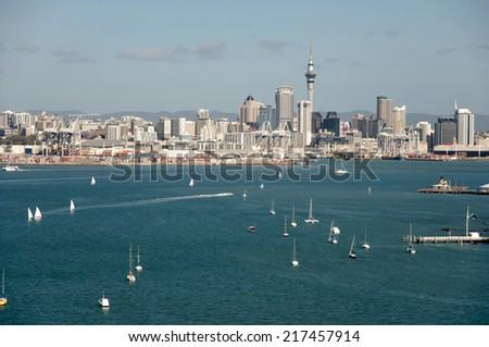 Auckland - New Zealand - stock photo