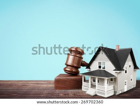 Auction, photography, law. - stock photo