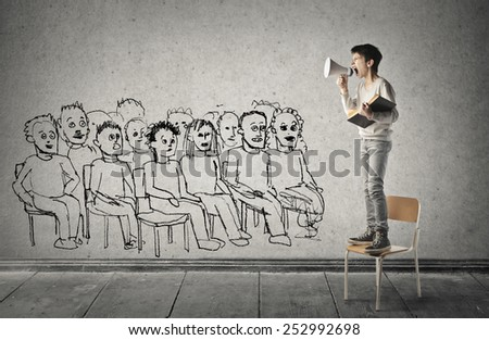 audience  - stock photo