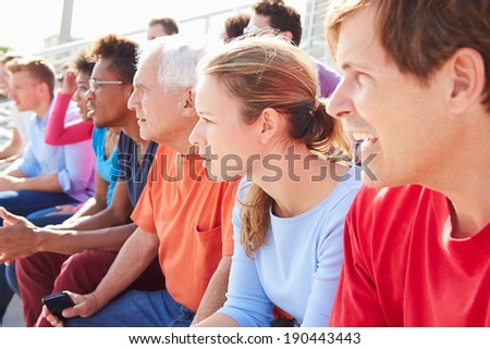 Audience Watching Outdoor Concert Performance