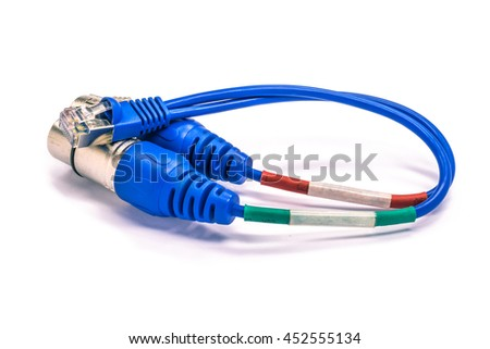 Audio cable network audio