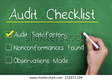 Audit - stock photo
