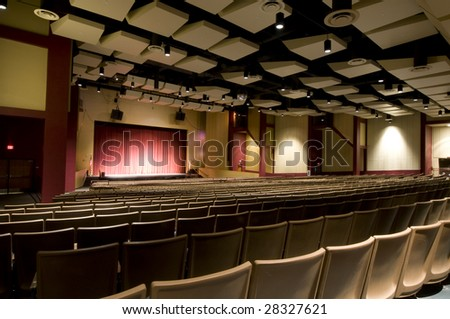 Auditorium from the Back.