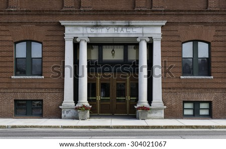 AUGUSTA, MAINE - JULY 30: The Inn at City Hall at 1 Cony Street on July 30, 2105 in Augusta, Maine