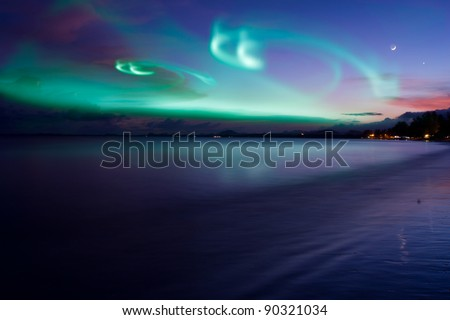 Aurora - stock photo