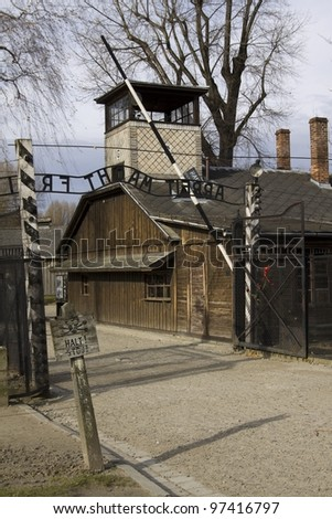 Auschwitz-Birkenau, German Nazi concentration and extermination camp in Poland