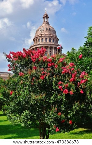 AUSTIN, TX -11 JUNE 2016- Built in 1888 in downtown Austin, the Texas State Capitol building is home to the Texas legislature and the office of the Governor.