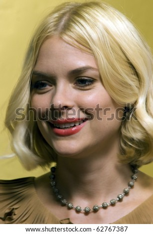 "AUSTIN,TX - SEPTEMBER 23: Actress Jaime King attends the ""Mother's Day"" premiere at Alamo Drafthouse during the 2010 Fantastic Fest on September 23, 2010 in Austin, TX."
