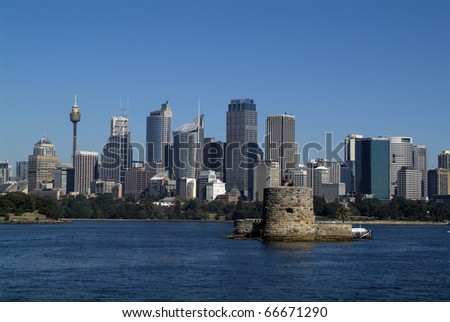 Australia, Fort Denison in Sydney,