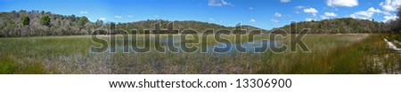 Australia fraser island queensland - stock photo