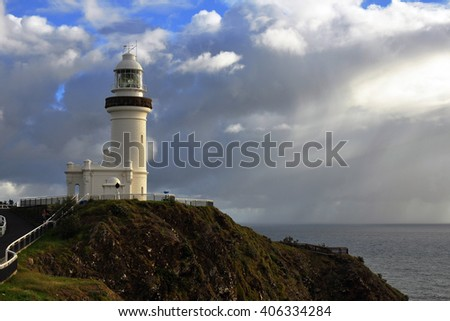 Australia Landscape, Byron Bay lighthouse