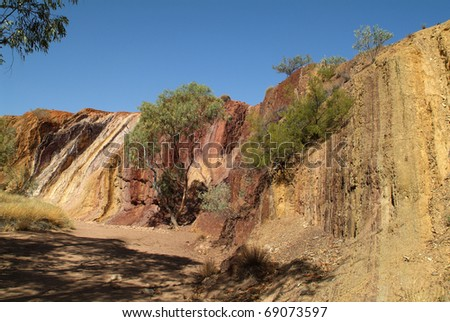 Australia, Ochre Pits in Northern Territory