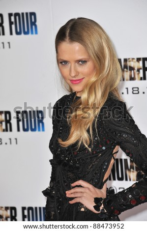 "Australian actress Teresa Palmer at the world premiere of her new movie ""I Am Number Four"" at the Mann Village Theatre, Westwood. February 9, 2011  Los Angeles, CA Picture: Paul Smith / Featureflash"