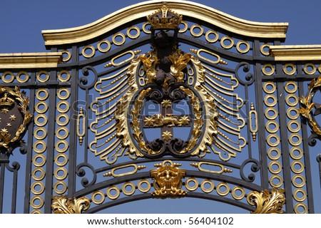 Australian Gate near Buckingham Palace. London - stock photo