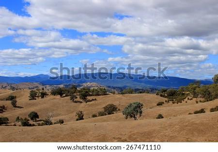 Australian landscape - stock photo