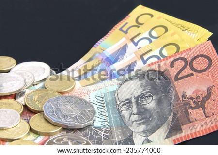 Australian Money - stock photo
