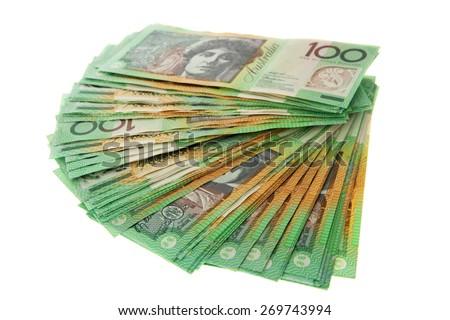 Australian Money - Aussie currency - stock photo