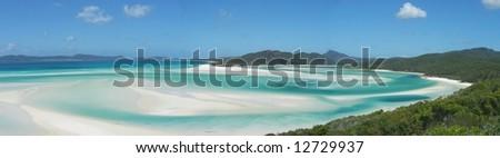 Australian Panoramic - stock photo