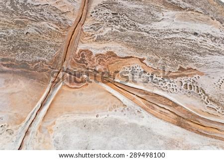 Australian stone texture - stock photo