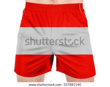 Austria. Austrian flag  - stock photo