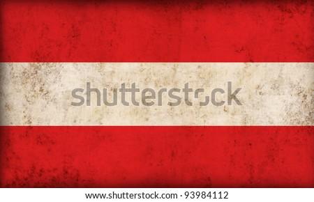 Austria flag background - stock photo