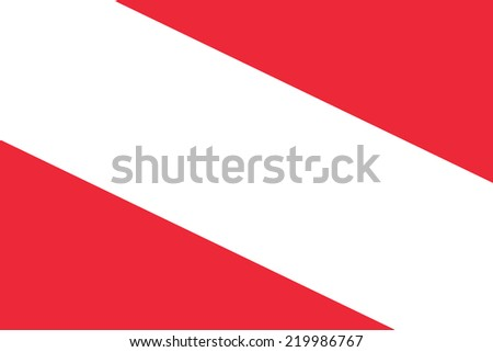 Austria Flag. Close up.