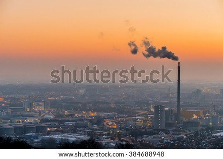 austria, linz, industrial area