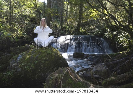 Austria, Salzburger Land, Altenmarkt-Zauchensee, woman relaxing