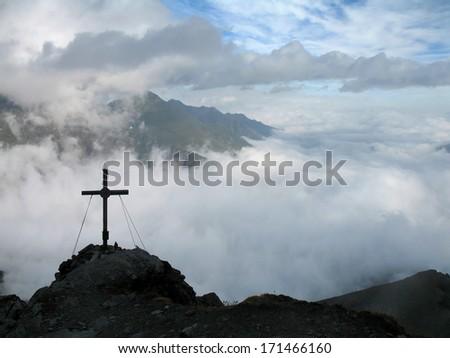 Austrian Alps, High Tauern National Park - stock photo