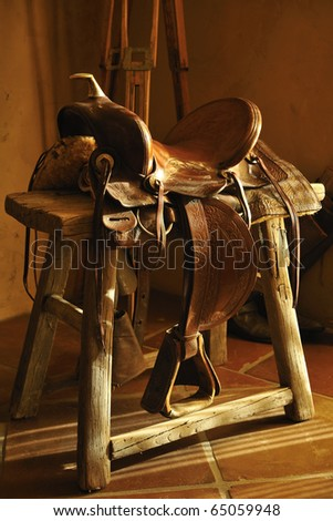 Western Saddle Stock Images Royalty Free Images Amp Vectors