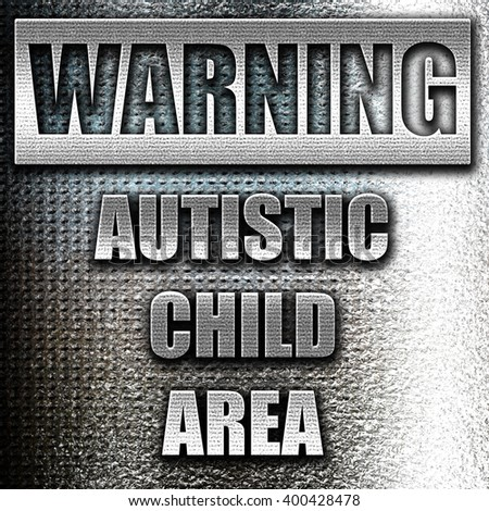 Autistic child sign
