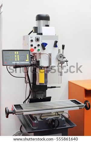 Automated Drilling Milling Machine Tool