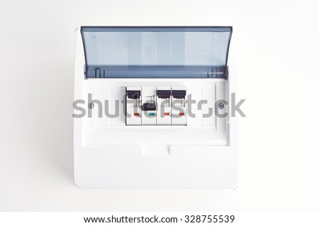 automatic fuses closed fusebox small electrical stock photo royalty rh shutterstock com Breaker Box Car Fuse Box