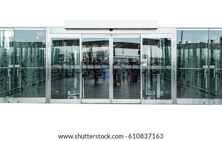 Glass Door Stock Images RoyaltyFree Images Vectors Shutterstock