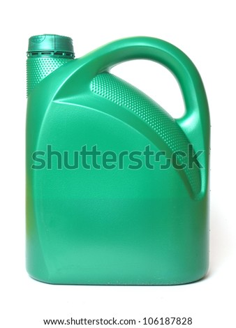 Automobile oil - stock photo