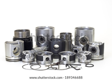 automobile spare parts - stock photo