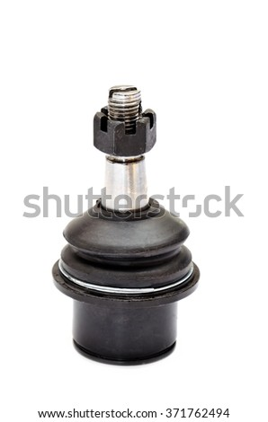 Automotive ball joint, isolated on a white background - stock photo