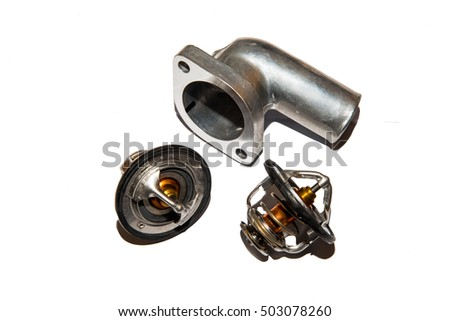 Automotive Car Thermostat and Outlet Water Spare Parts
