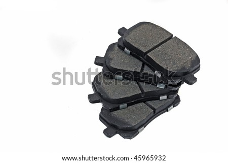 Automotive parts ceramic coated  front disk brake pads