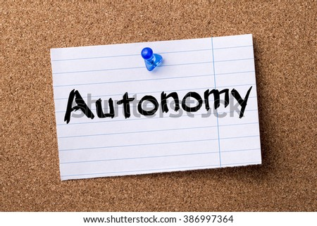 women autonomy essay Free essay: throughout the nineteenth century, the role of women began to change slowly the role of women went from strict domestic work, to having their.