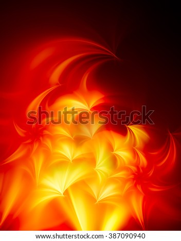 Autumn abstract background, bright and showy. Sends joyful autumnal mood. In some places a little blurred.  Bright and colorful abstract background with a holiday mood, fun, joy and happiness - stock photo