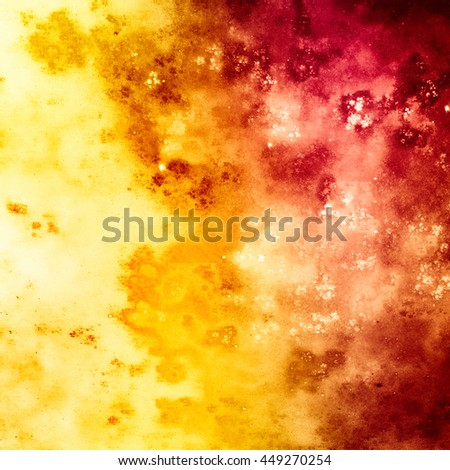 Autumn abstract background, bright and showy. Sends joyful autumnal mood. In some places a little blurred. - stock photo