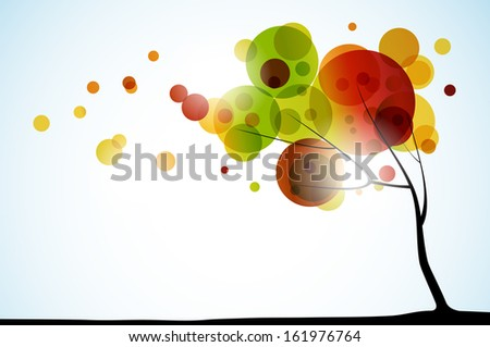 autumn background, jpg - stock photo