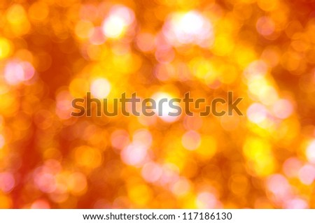 autumn background with sunny rays