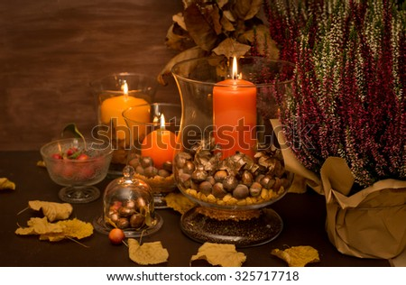 Autumn Decorations autumn decorations stock images, royalty-free images & vectors