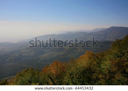 Autumn in Alsace - stock photo