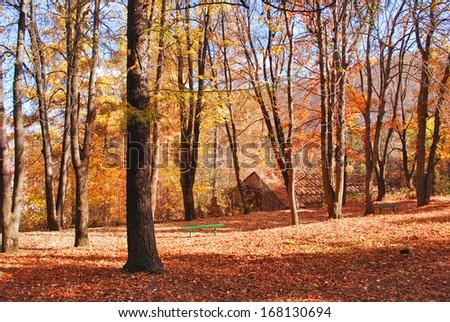 Autumn in Armenia - stock photo